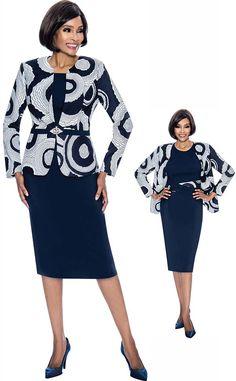 cc55ac94b122af Terramina 7704 - Jewel Neckline Dress With Print Jacket Design - Fall 2018  - ExpressURWay