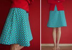 Zelfgemaakt van mij - voor jou: Patroon voor een A-lijn rok