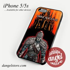 Dark Soul III A Knight 2 Phone case for iPhone 4/4s/5/5c/5s/6/6s/6 plus