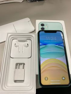 New condition has a bad esn and cannot be activated in USA. Free Iphone, Iphone 11, Apple Iphone, Iphone Phone Cases, Iphone Case Covers, Iphone Headphones, Telefon Apple, Apple Smartphone, Smartphone Hacks