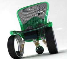 FuturisticWheelchair. Voice controlled for iPhone users.