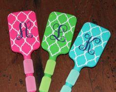 Paddle Brush Great Christmas Gift by KandyRiggsDesigns on Etsy