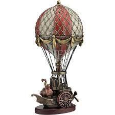 Risultati immagini per steampunk balloon