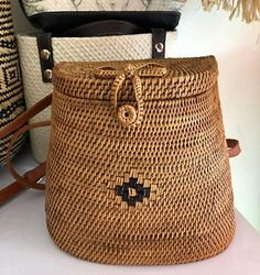 59974dfa8 Rattan, Straw Bag, Eco Friendly, Hand Weaving, Boho Chic, My Etsy Shop,  Michael Kors, Wicker, Hand Knitting