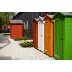 Backyard Storage Sheds, Shed Storage, Small Garden Tool Shed, Tool Sheds, Deco, Beach Huts, Outdoor Structures, Week End, France