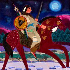 The Hard Moon (Lokota January, Wiotehika--WI)