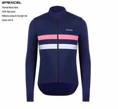 4c62f8983  Click Image to Buy  SPEXCEL 2017 Top quality winter thermal fleece Reflective  Cycling Jersey