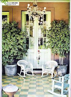 Quadrat: Galería con creatividad y calcáreos Sitting Area, Other Rooms, The Great Outdoors, Kitchen Remodel, Gazebo, Hardwood, Tiles, Outdoor Decor, Tile Flooring