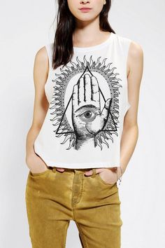 Deter All Seeing Eye Muscle Tee