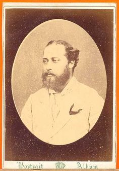 Prince of Wales Edward VII son of Queen Victoria 1865