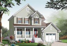 Détail du plan de Maison unifamiliale W3452