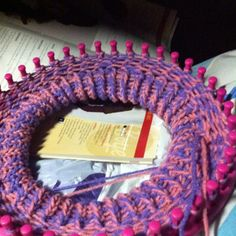 Knifty knitter looms