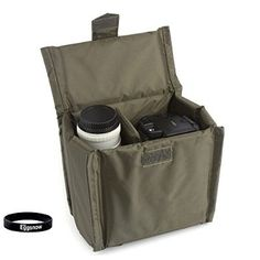 """Eggsnow Universal Camera Liner Insert Partition Protective Bag Cover waterproof shockproof for SLR DSLR TLR camera 7""""x 4""""x 7"""" Army Green - For Sale Check more at http://shipperscentral.com/wp/product/eggsnow-universal-camera-liner-insert-partition-protective-bag-cover-waterproof-shockproof-for-slr-dslr-tlr-camera-7x-4x-7-army-green-for-sale/"""