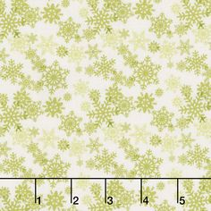 Glad Tidings - Snowflakes Cream Yardage
