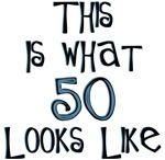 50th birthday humor 50 looks like this funny gifts