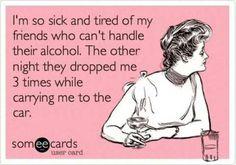 I'm so sick...
