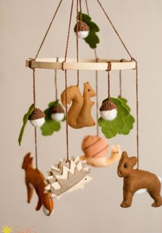 Hey, I found this really awesome Etsy listing at https://www.etsy.com/listing/208903822/baby-eco-mobile-forest-mobile-woodland
