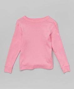 Light Pink Tee - Toddler & Girls