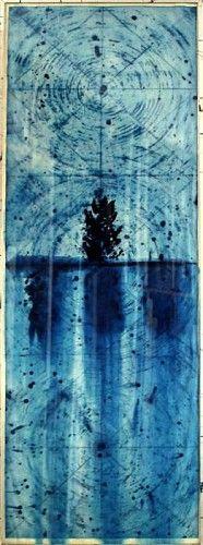Judy Pfaff, End of Rain B (ed. of 30) 2006, etching, dye on Crown Kozo paper