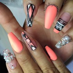 @nailsbymztina Instagram photos | Websta