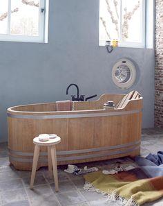 Meer dan 1000 idee n over houten badkamer op pinterest badkamermeubel eiken badkamer en - Deco badkamer hout ...