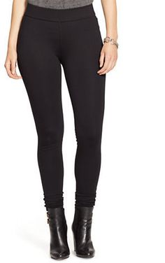 Lauren Ralph Lauren Plus Ryanne Stretch Leggings >>> Read more reviews of the product by visiting the link on the image.