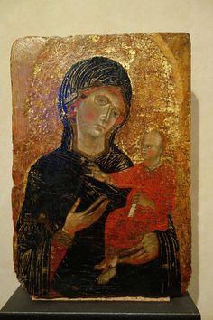 Maestro di San Martino (Ugolino di Tedice?) - Madonna e Bambino - Museo di San Matteo, Pisa