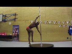 WOW!      Nico Modestine - Guest Performance at the Inter-Uni Pole Competition 2013