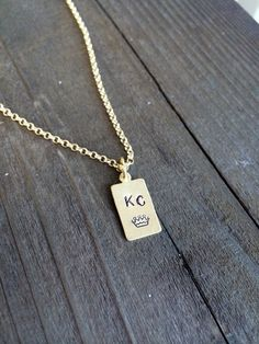 Kansas City Royals Necklace. I need this before I leave.