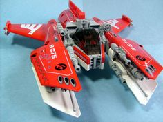 "The ""Nnenn"" is a ""Vic Viper"" class starfighter I built in tribute to the late builder Nate ""nnenn"" Nielsen."