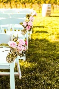 #lace #vintage #garden #gardenceremony #ceremony #vintage #white #pink #wedding #spring #vineyard #allprettyweddings