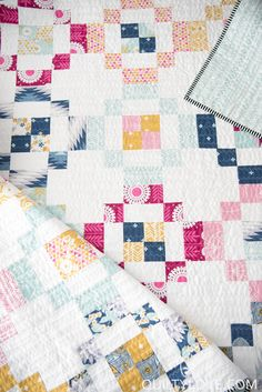 Quilty Love | Jelly Rings Quilt Pattern | http://www.quiltylove.com