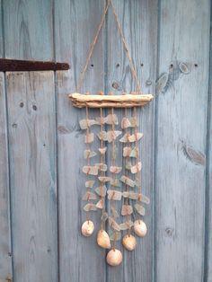 Handmade Nautical Smooth Sea Glass Barnacle Shell
