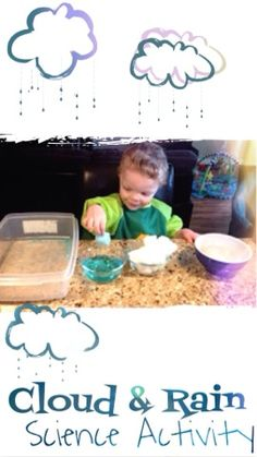 Cloud and Rain Science activity for Preschoolers and above!  Fun kids activity to learn about clouds and rain (scheduled via http://www.tailwindapp.com?utm_source=pinterest&utm_medium=twpin&utm_content=post721085&utm_campaign=scheduler_attribution)