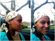 A scarf turns a bad hair day into a good one :)