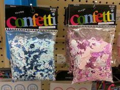 Confetti for the table $3.99 Hobby Lobby