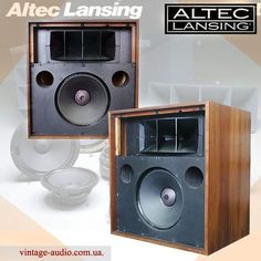 High End Audio Equipment For Sale Big Speakers, Horn Speakers, Equipment For Sale, Audio Equipment, Audiophile Speakers, Altec Lansing, Audio Sound, Speaker Design, High End Audio