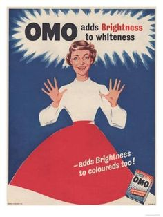 An poster sized print, approx (other products available) - powder housewives housewife products detergent<br> - Image supplied by Advertising Archives - Poster printed in Australia