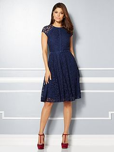 d131ffaf2df Shop Eva Mendes Collection - Veronica Lace Dress . Find your perfect size  online at the best price at New York   Company.