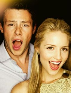 Cory Monteith and Dianna Agron/ I love it