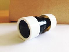 Gift Guide, Ages 3 to 5: Start cultivating a young bird-watcher with this pocket-sized retractable mini telescope #holidays #gifts
