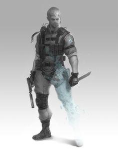 Metal Gear Online Concept Art, Jordan Lamarre-Wan on ArtStation at https://www.artstation.com/artwork/Wb5aG