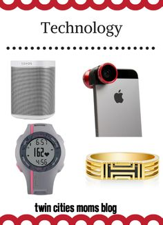 Mama's Holiday Wish List: Ideas from TCMB Contributors | Twin Cities Moms Blog Technology gifts for mom {www.CityMomsBlog.com}