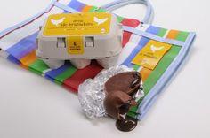 Caixa de Ovo de Chocolate Maria Brigadeiro / Chocolate Egg Box