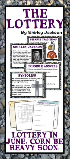 the lottery essay assignment The lottery – social order on studybaycom - the story of shirley jackson, online marketplace for students.