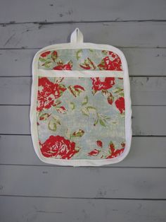 Caught Ya Lookin'-Floral Pot Holder
