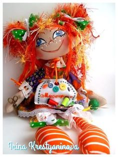 Одноклассники Doll Crafts, Soft Sculpture, Softies, Art Dolls, Fantasy Art, Doll Clothes, Projects To Try, Christmas Ornaments, Holiday Decor