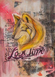 Site: www.danielnardes.com Insta: @dannardes  #lobo #nanquim #ilustration