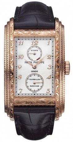 Patek Philippe Tourbillon watch with 10 Day Power Reserve. ~CRV~ find that perfect wrist watch here today! Amazing Watches, Beautiful Watches, Cool Watches, Wrist Watches, Patek Philippe, Tourbillon Watch, Timex Watches, Men's Watches, Fashion Watches