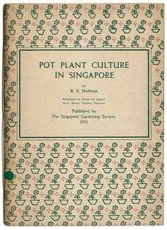 Pot plant culture in Singapore / Book cover